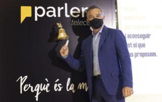 Parlem Telecom surt a borsa amb un valor de 45,3 milions d'euros i creix més d'un 28% en la primera hora als mercats