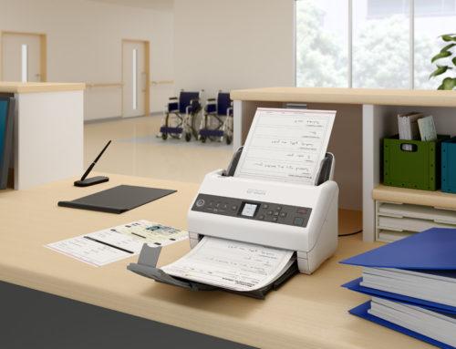 Epson llança una nova sèrie d'escàners destinats a millorar la gestió segura de documents i reduir costos, ideals per als centres sanitaris