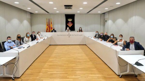 La nova Junta Directiva de Sant Cugat Empresarial presenta les línies estratègiques a l'Ajuntament de Sant Cugat