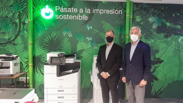Sant Cugat Empresarial realitza una visita institucional a les instal·lacions d'Epson